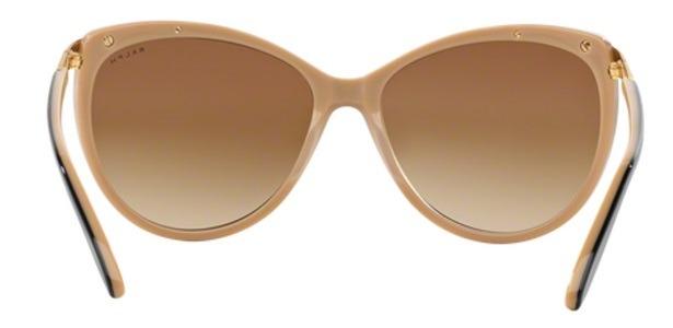 9fbd9fb54 Óculos De Sol Ralph By Ralph Lauren Ra5150 Preto Nude - R  300