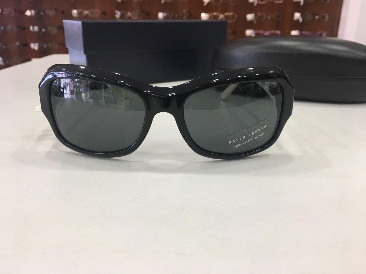 c207e3ca5 Óculos De Sol Ralph Lauren |rl 8107q 5001/87 3n Preto Couro - R$ 559 ...
