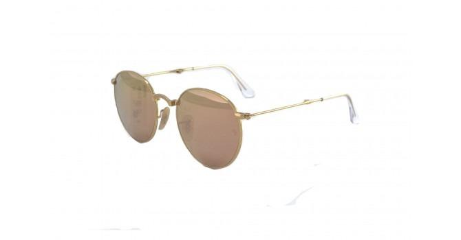 0aedde48f8b77 Óculos De Sol Ran Round Dobrável Rb3532 001 z2 Metal Unissex - R ...