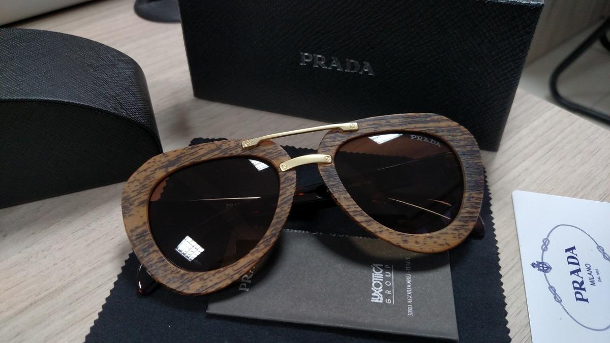 Óculos De Sol Raw Madeira Aviador - R  350,00 em Mercado Livre 588401d90d