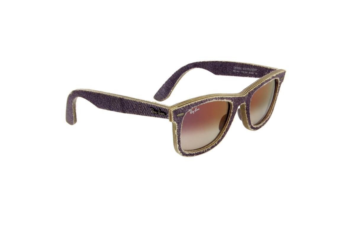 1ae55b73bf217 óculos de sol ray-ban 100% proteção uv ópticas melani lilás. Carregando  zoom.