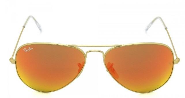 6ae87f22d3a1a Óculos De Sol Ray Ban 3025 112 69 58 14 Espelhado Vermelho - R  439 ...