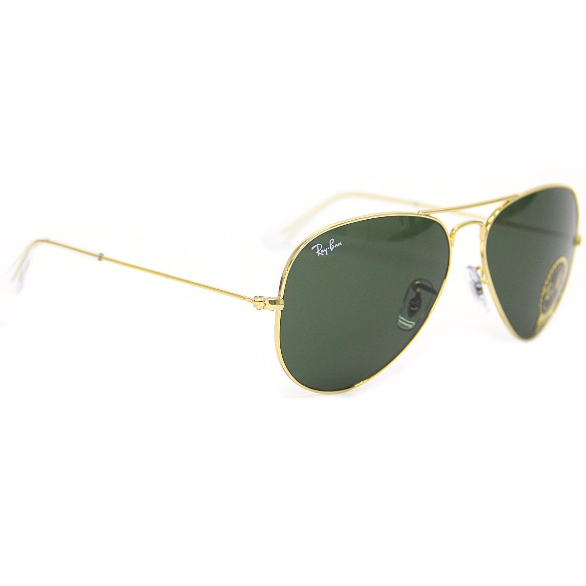 óculos de sol ray ban 3025l aviador large metal l205 58 dour. Carregando  zoom. a29d83053c