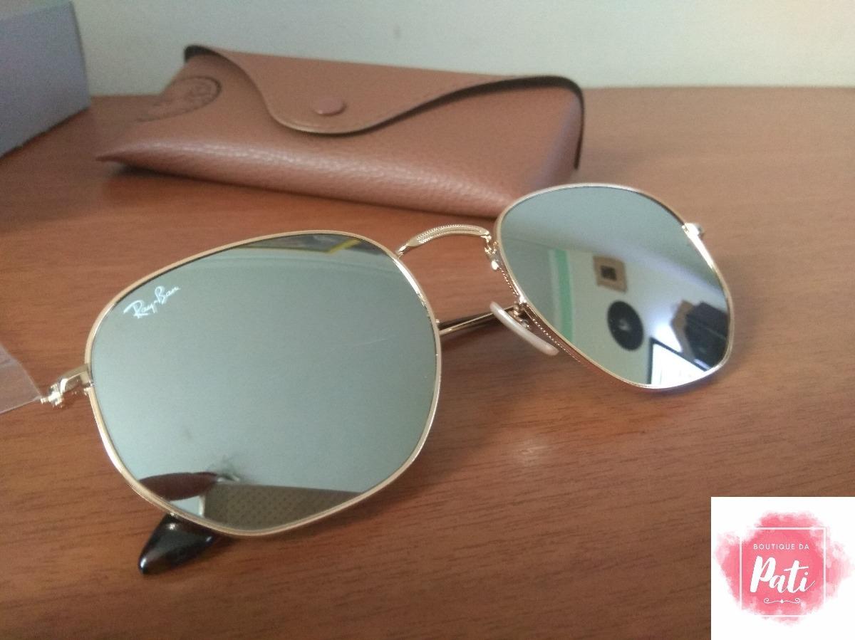 Óculos De Sol Ray Ban 3548 Hexagonal Varias Cores - R  200,00 em ... b065f4b5f6