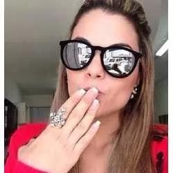 3c1658fdc9a02 Óculos De Sol Ray Ban 4171 Erika Velvet Veludo Espelhado - R  99
