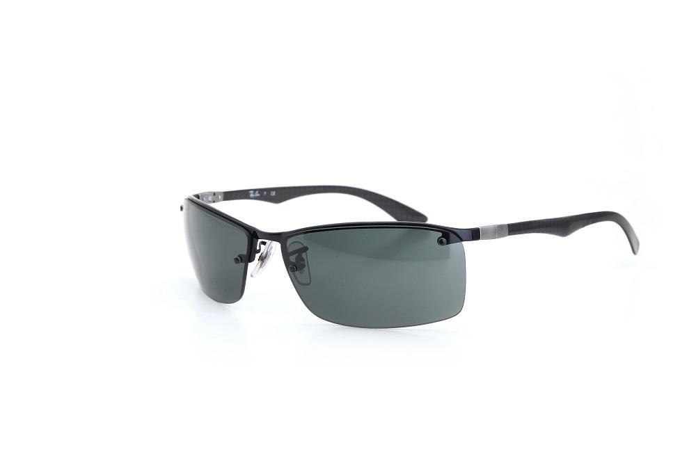 óculos de sol ray ban armação metal logo nas laterais preto. Carregando  zoom. 8374ae3c91