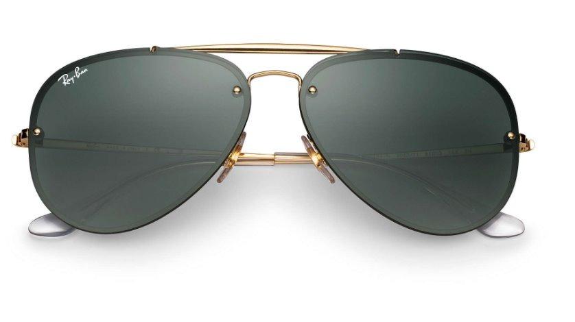 f0d855980 Oculos De Sol Ray Ban Aviador Blaze Original Rb3584 - R$ 200,00 em ...