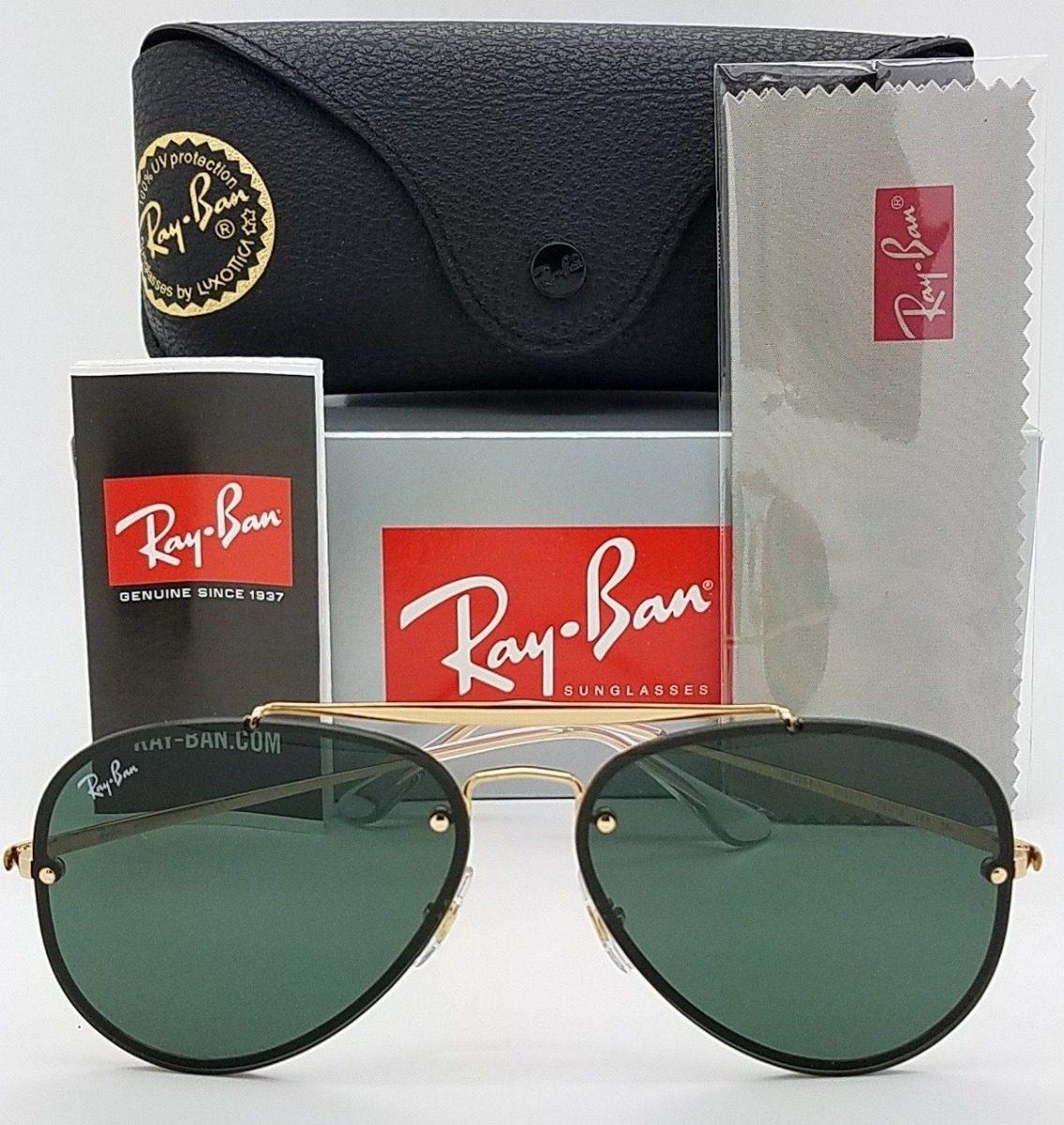 f5afcf813 oculos de sol ray ban aviador blaze rb3584 feminino masculin. Carregando  zoom.
