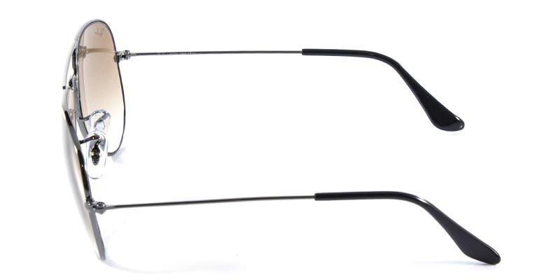 fa22e2d55bda0 óculos de sol ray ban aviador clássico rb3025 grafite lent. Carregando zoom.