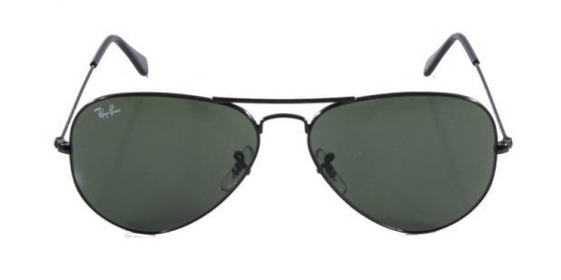78d6609928e82 Óculos De Sol Ray Ban Aviador Clássico Rb3025 Preto Lente - R  139 ...