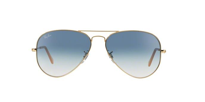 Óculos De Sol Ray Ban Aviador Clássico Rb3025l 0013f Ouro - R  454 ... dd3688e3bb