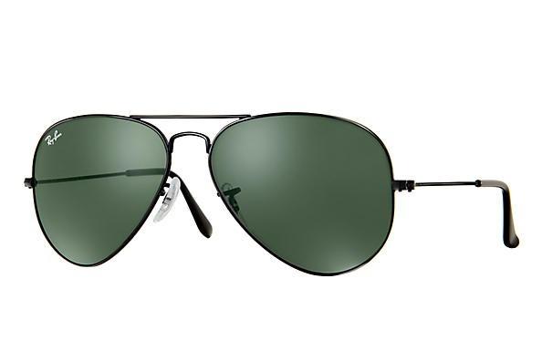 8f280a73c5 Óculos De Sol Ray Ban Aviador Cód.3025 002/58 - Frete Grátis - R ...