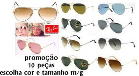 d7453c0c2 Kit Ray Ban Revenda - Óculos De Sol Com proteção UV no Mercado Livre ...