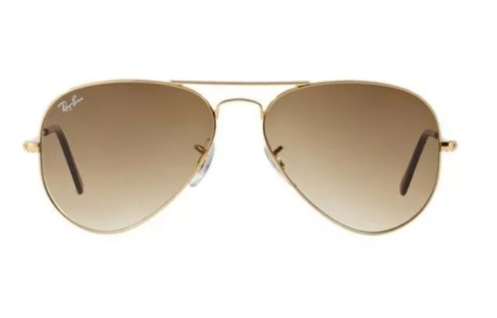 Oculos De Sol Ray Ban Aviador Marrom Degrade Rb3025 - R  139,90 em ... 5f197b1812