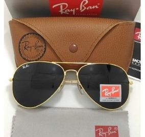 fc5631296 Óculos Ray Ban 3025/3026 Dourado Com Lente Azul Degrade - Óculos no ...