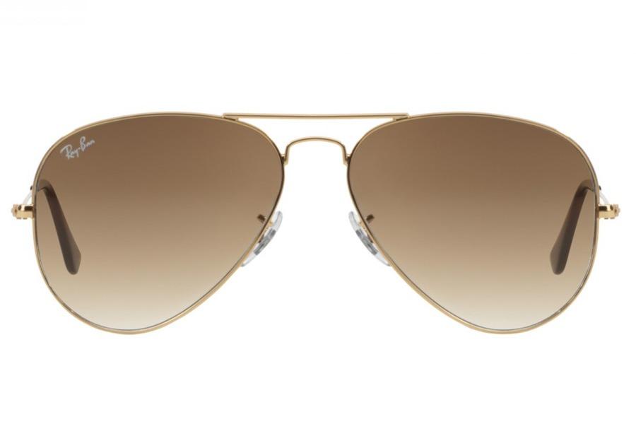 1ea79294bbbed óculos de sol ray ban aviador metal rb3025l 001 51 58 dourad. Carregando  zoom.