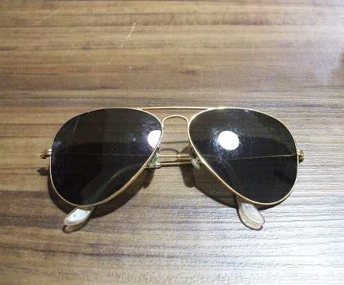 Óculos De Sol Ray-ban Aviador Original Antigo Anos 80 - R  219,99 em ... 11d63b668d