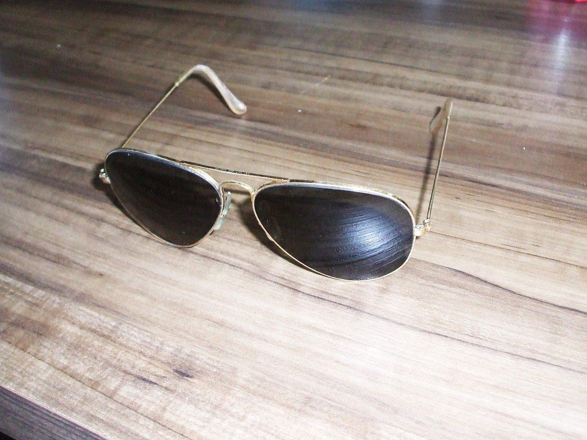 Óculos De Sol Ray-ban Aviador Original Antigo Anos 80 - R  89,00 em ... 67823f08d6