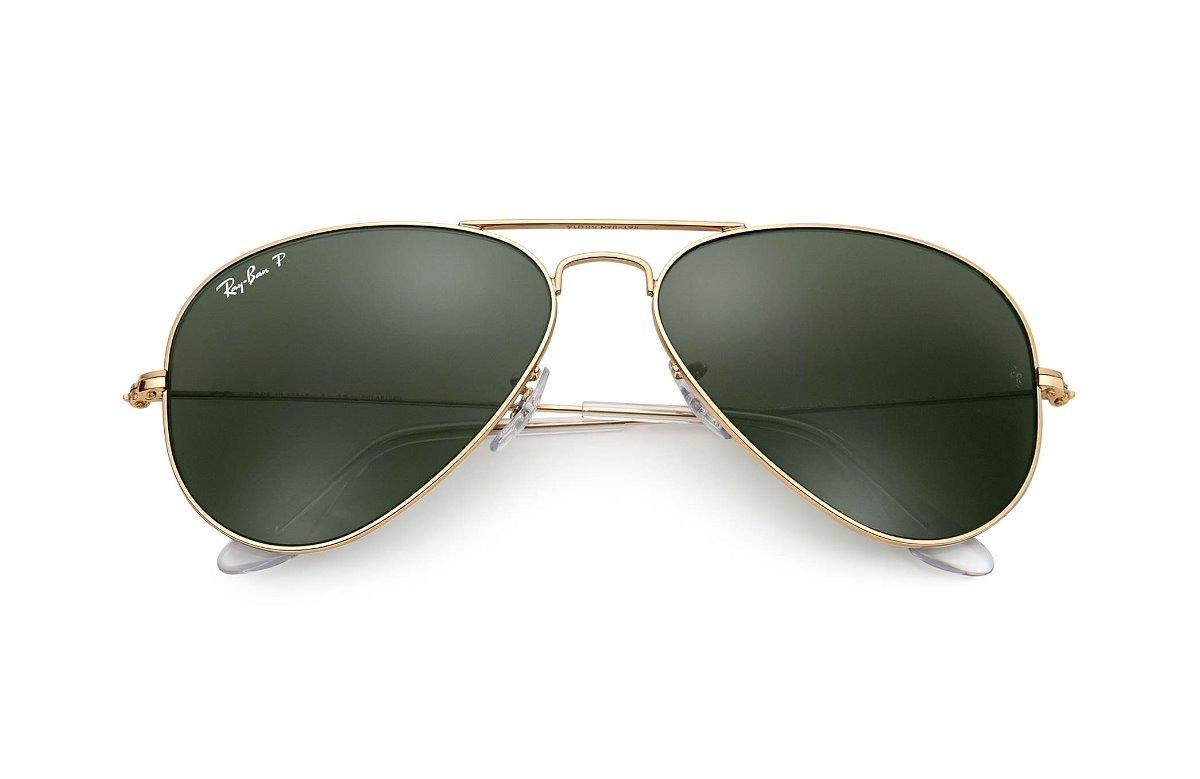 90bae7c8c Oculos De Sol Ray Ban Aviador Original Rb3025 Polarizado - R$ 220,00 ...
