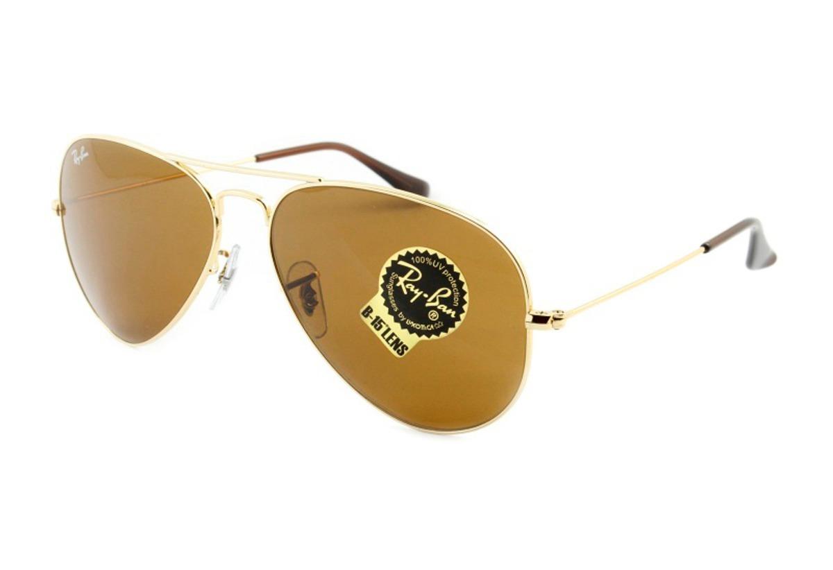a35fb7f593bf7 óculos de sol ray-ban aviador rb 3025 001 33 58 original. Carregando zoom.