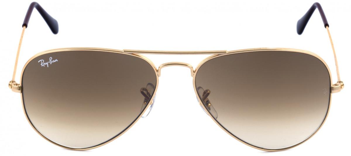 93504613a Óculos De Sol Ray Ban Aviador Rb 3025 001/51 58 - Original - R$ 479 ...