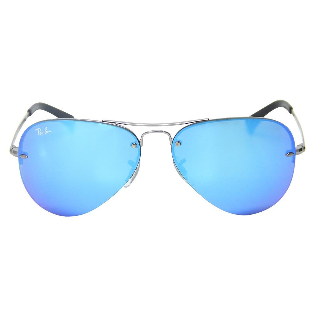 a514d1c980465 Óculos De Sol Ray-ban Aviador Rb 3449 - R  579,49 em Mercado Livre