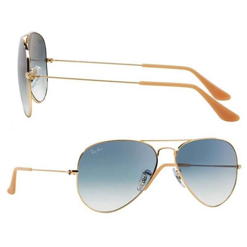 473c4e4ec0a64 Óculos De Sol Ray Ban Aviador Rb3025 001 3f Tam.58 Dourado - R  299 ...