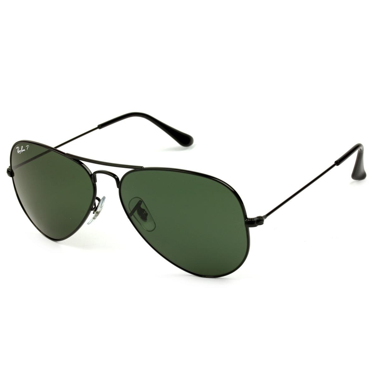 óculos de sol ray-ban aviador rb3025l 002 58 62 p. original. Carregando  zoom. 6e434afb45