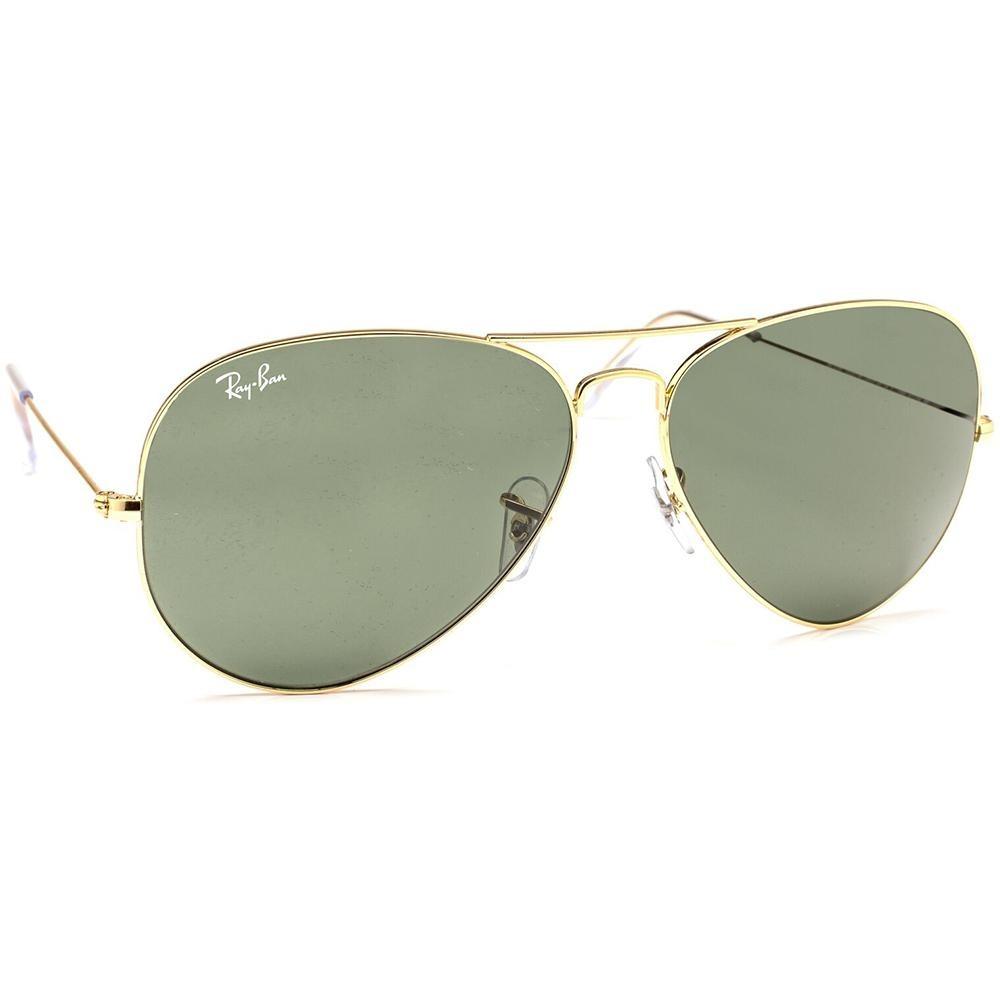 6b87351b3 óculos de sol ray ban aviador rb3026l dourado - u 420 0. Carregando zoom.