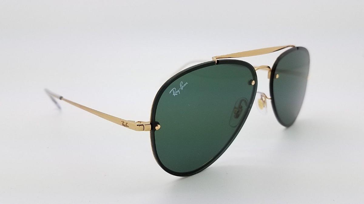 846e9ce05 oculos de sol ray ban aviador rb3584 blaze feminino masculin. Carregando  zoom.