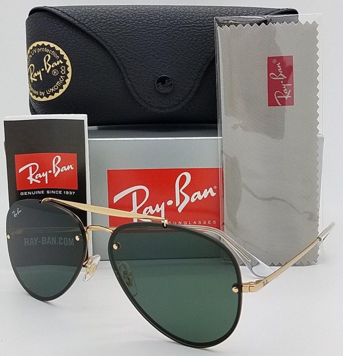 e5c3f5d90ee16 oculos de sol ray ban aviador rb3584 blaze feminino masculin. Carregando  zoom.