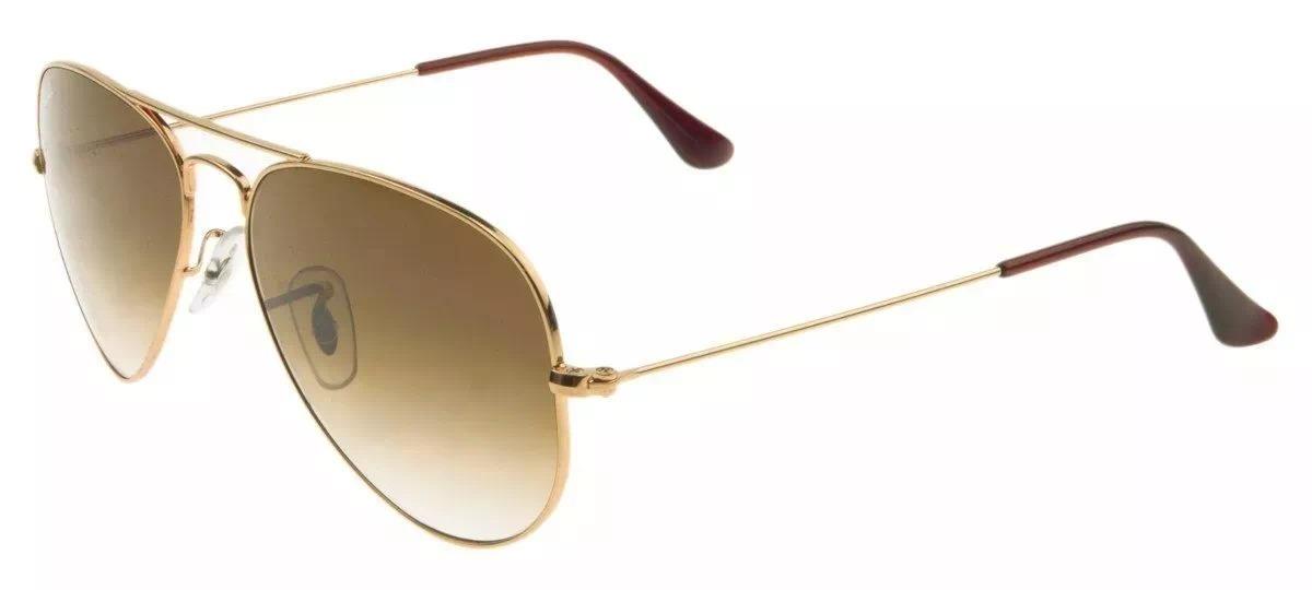 ada4d5bbc20d7 óculos de sol ray ban aviador top rb3025 tam.58 55. Carregando zoom.