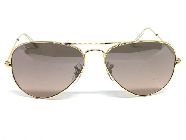 1543f42c2cf7f Oculos De Sol Ray Ban Aviador médio Rb 3025l 001 3e 58 - R  564