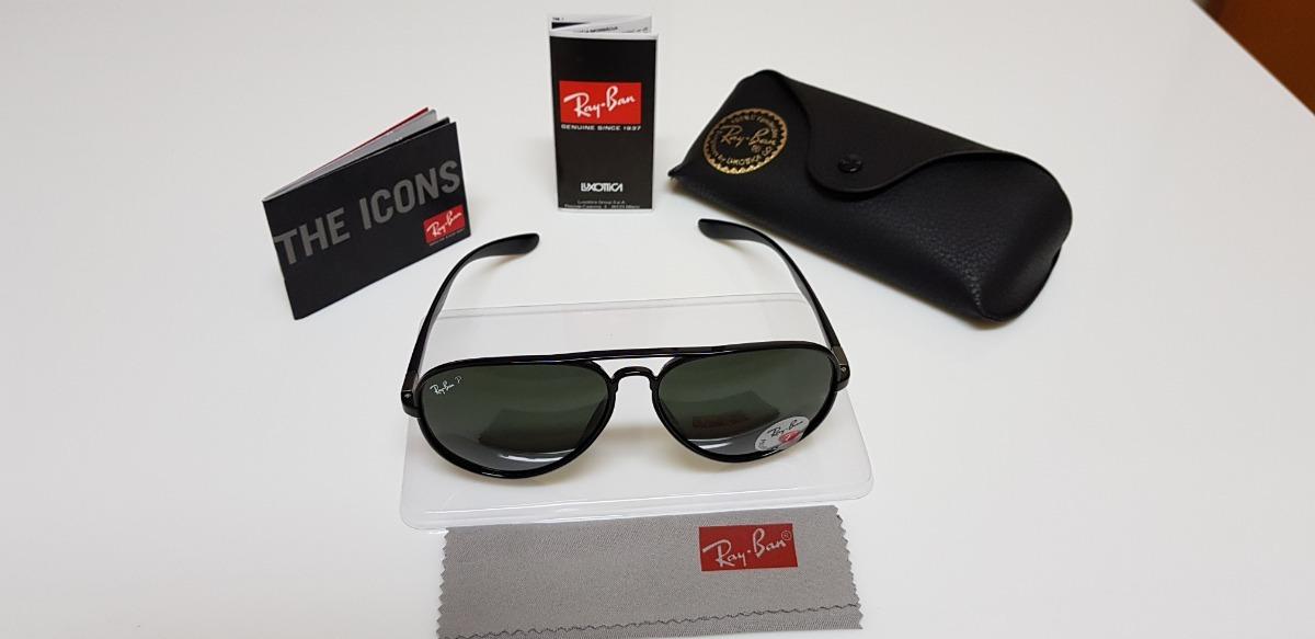 875dda926a25c óculos de sol ray-ban aviator 4180 preto liteforce verde g15. Carregando  zoom.