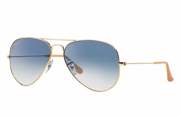 Óculos De Sol Ray Ban Aviator Gradiente Azul Degradê - R  530,00 em Mercado  Livre 8ad4d0db5d