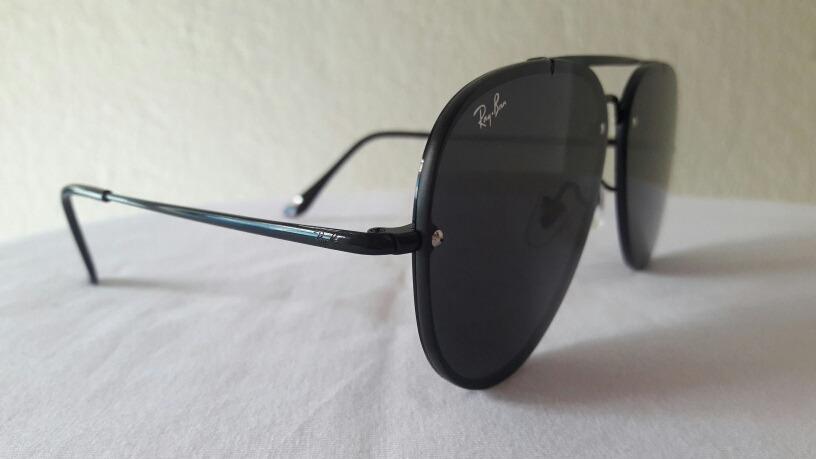 6af9bb27289cf óculos de sol ray ban blaze aviador black original. Carregando zoom.