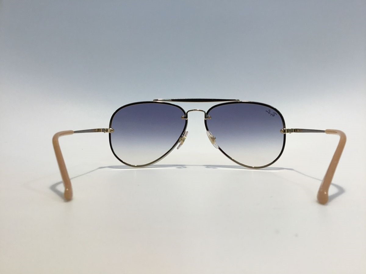 oculos de sol ray ban blaze aviador rb3584 azul degrade. Carregando zoom. 6cf31f583b