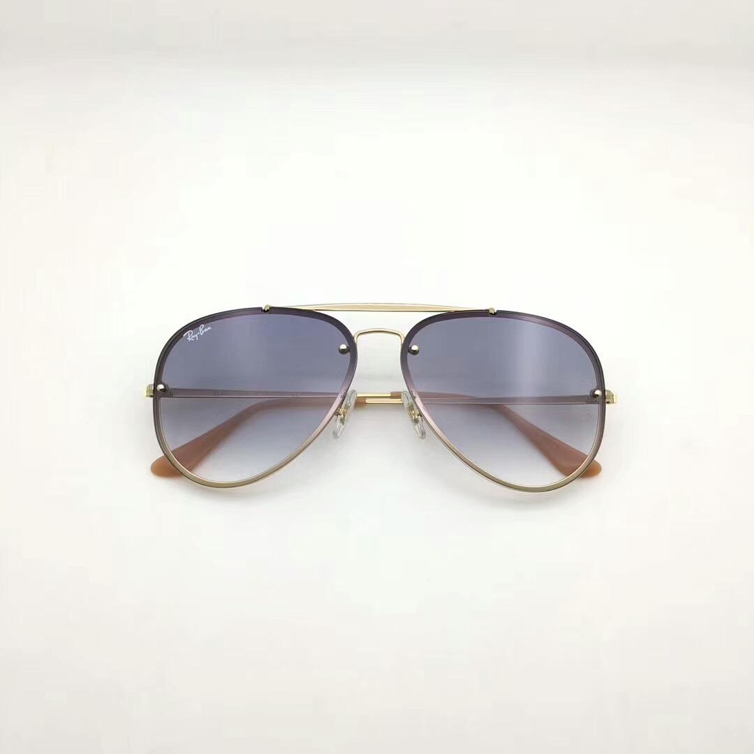 451bb9ab8 oculos de sol ray ban blaze aviador rb3584 azul degrade unis. Carregando  zoom.