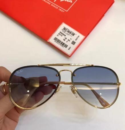 a83b0053e Oculos De Sol Ray Ban Blaze Aviador Rb3584 Lançamento - R$ 195,42 em ...