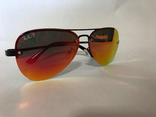 ae20fd2025855 Óculos De Sol Ray-ban Blaze Aviador Vermelho Polarizado Femi - R ...