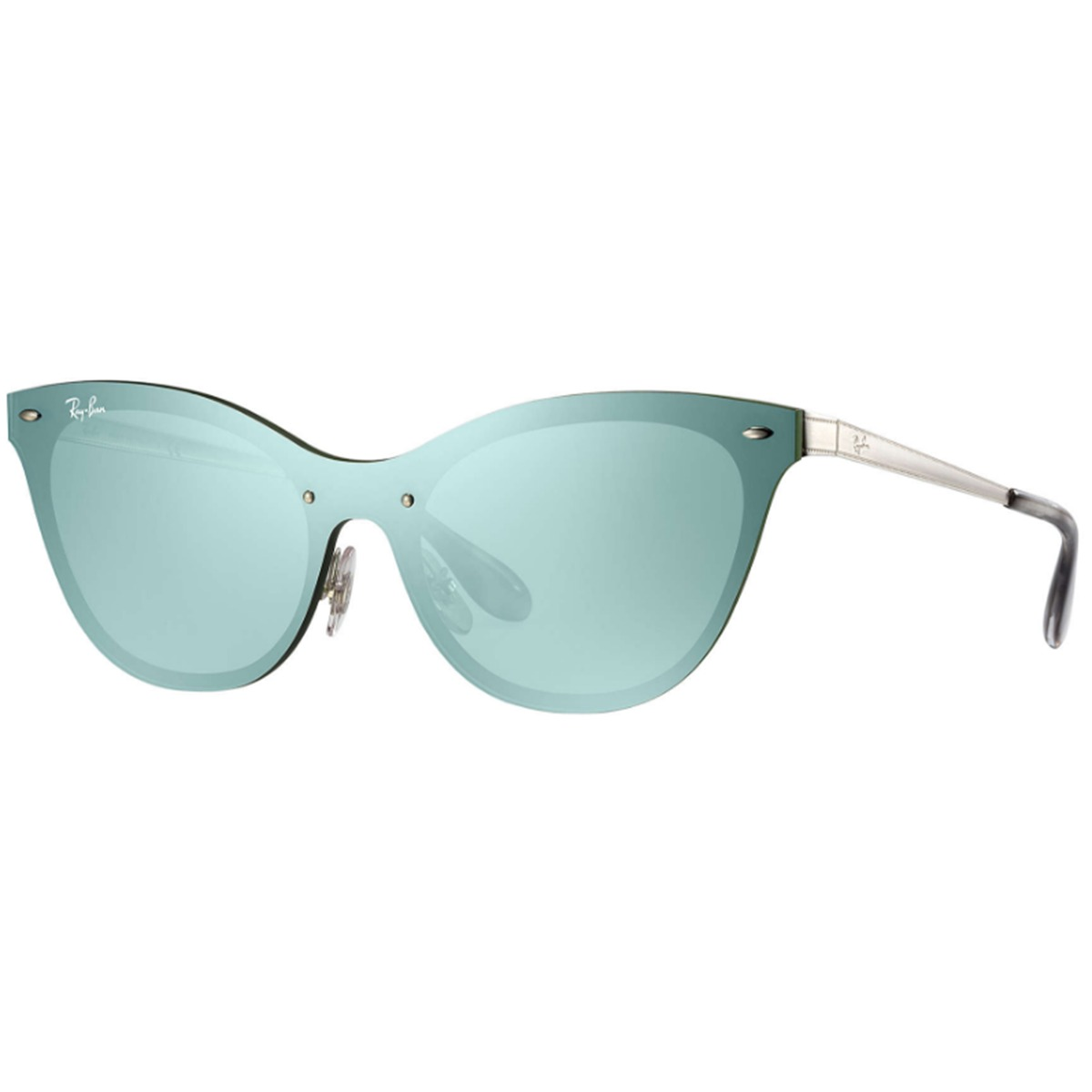 1ec254110671d Óculos De Sol Ray Ban Blaze Cat Eye Rb3580 042 30 - R  578,00 em ...