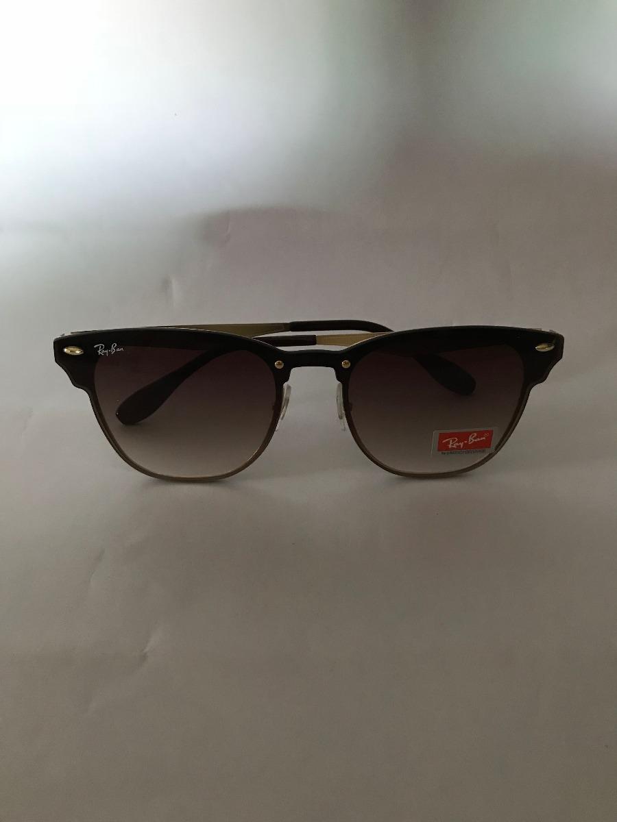 cce7091b1f97a5 oculos de sol ray-ban blaze clubmaster marrom degrade unisse. Carregando  zoom.