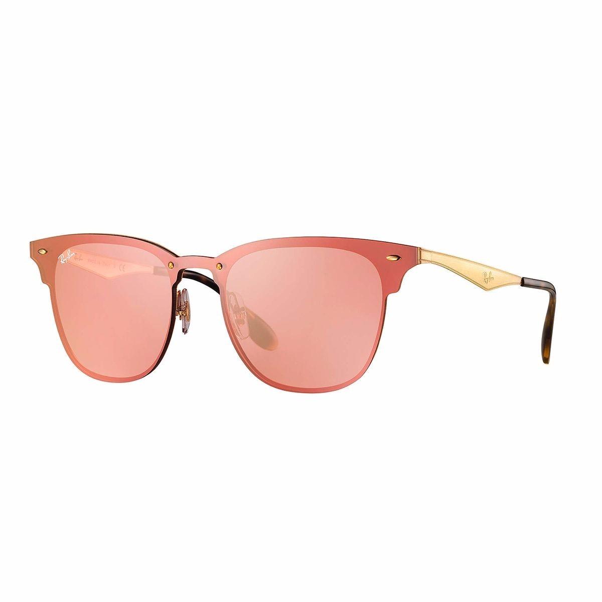 2f2056de79908 óculos de sol ray-ban blaze clubmaster rb 3576n 043 e4 140. Carregando zoom.