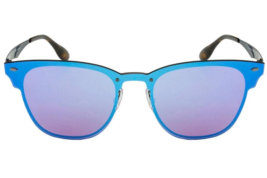 8cef32d83 Óculos De Sol Ray Ban Blaze Clubmaster Rb3576n 153 7v/41 Pre - R ...