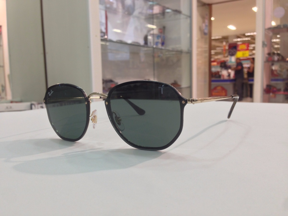 1c43de297fde3 Óculos De Sol Ray Ban Blaze Hexagonal Rb 3579-n 001 71 - R  533