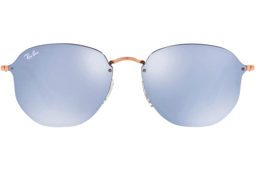 Óculos De Sol Ray Ban Blaze Hexagonal Rb3579n 90351u 58 Bron - R ... c51775b63d