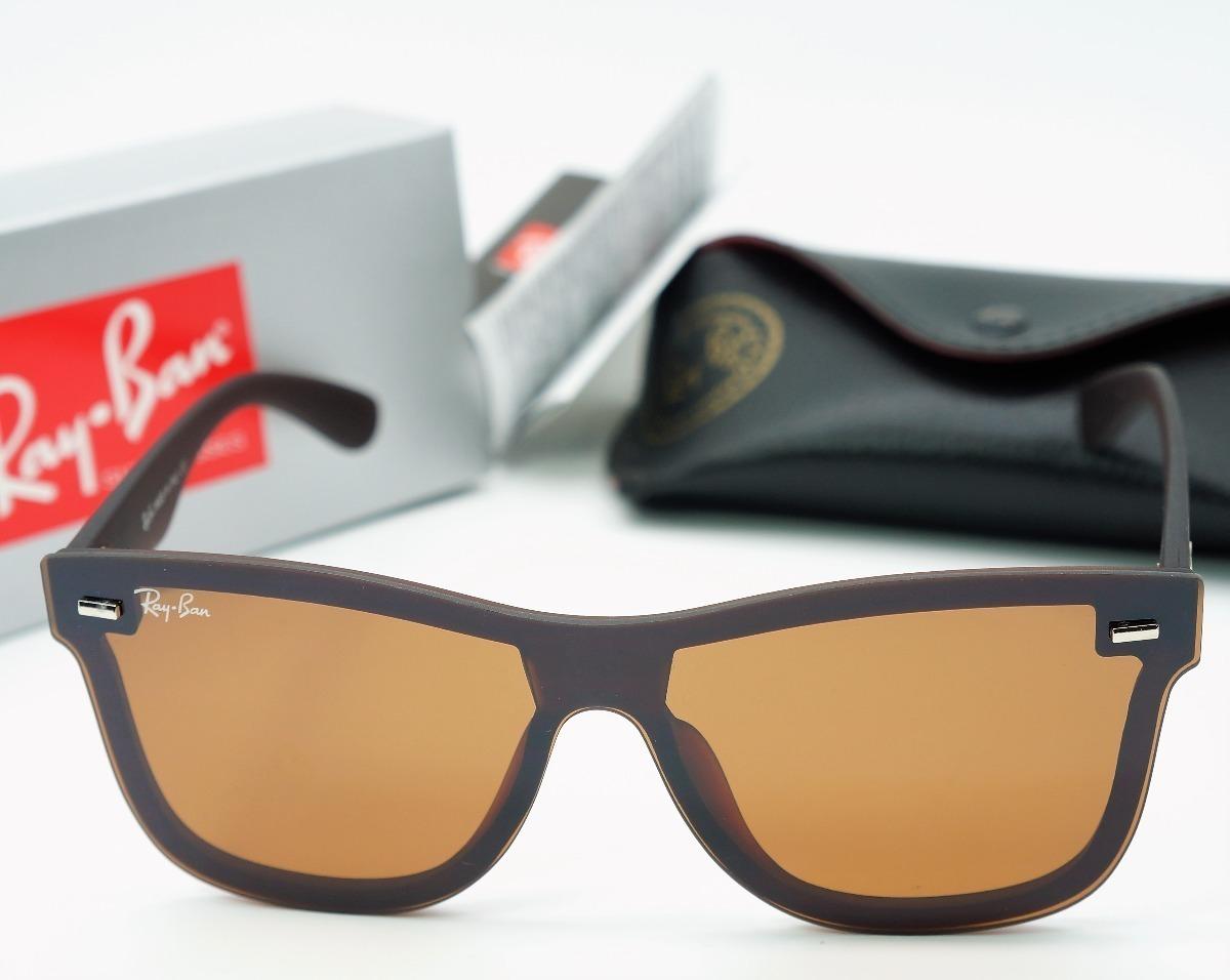 ce89cbda4755b Oculos De Sol Ray Ban Blaze Justin Marrom   Envio 24 Hs - R  46,80 ...