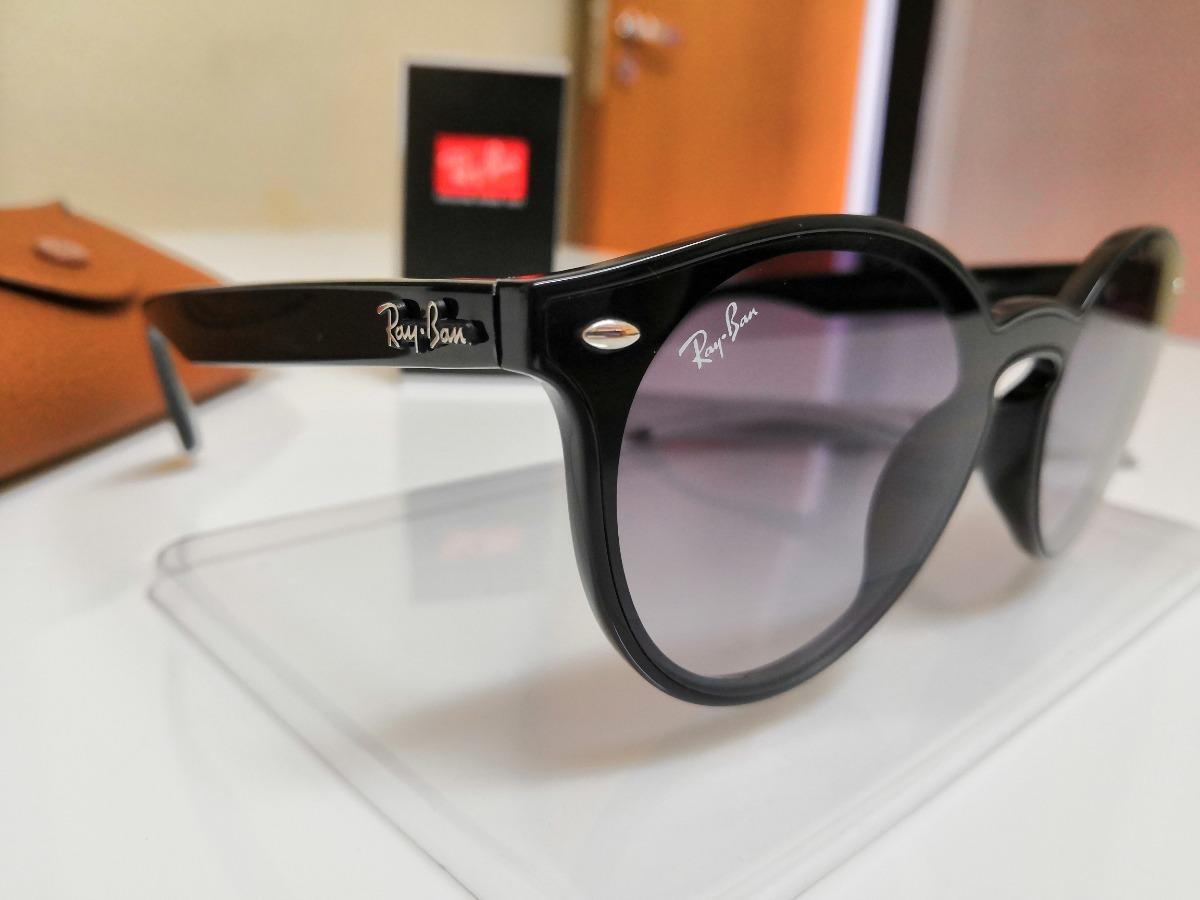 Óculos De Sol Ray-ban Blaze Rb4380n Nylon Preto Lente Cinza. - R ... 46affcf3cb