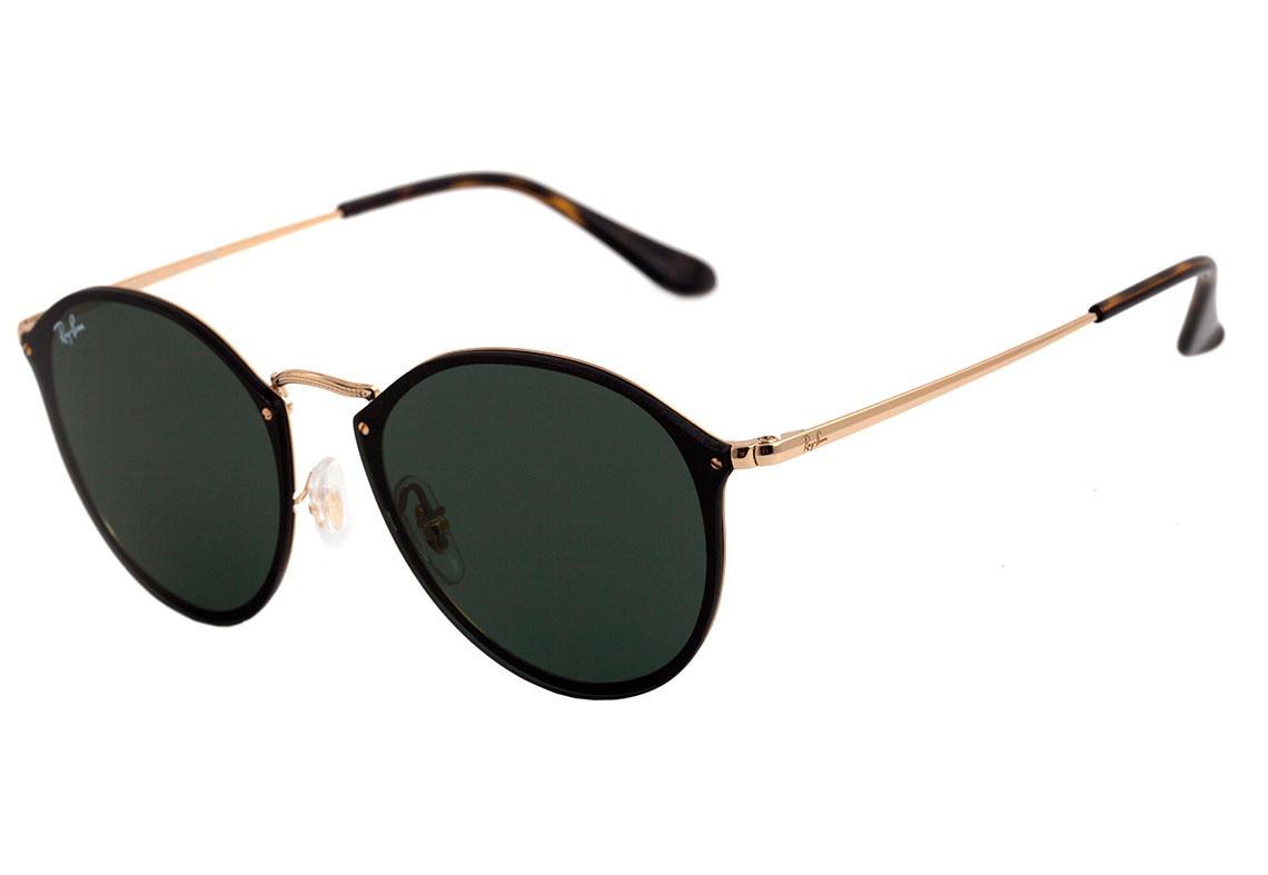 Óculos De Sol Ray Ban Blaze Round Rb 3574 001 71 - Original - R  529 ... 32d414285a
