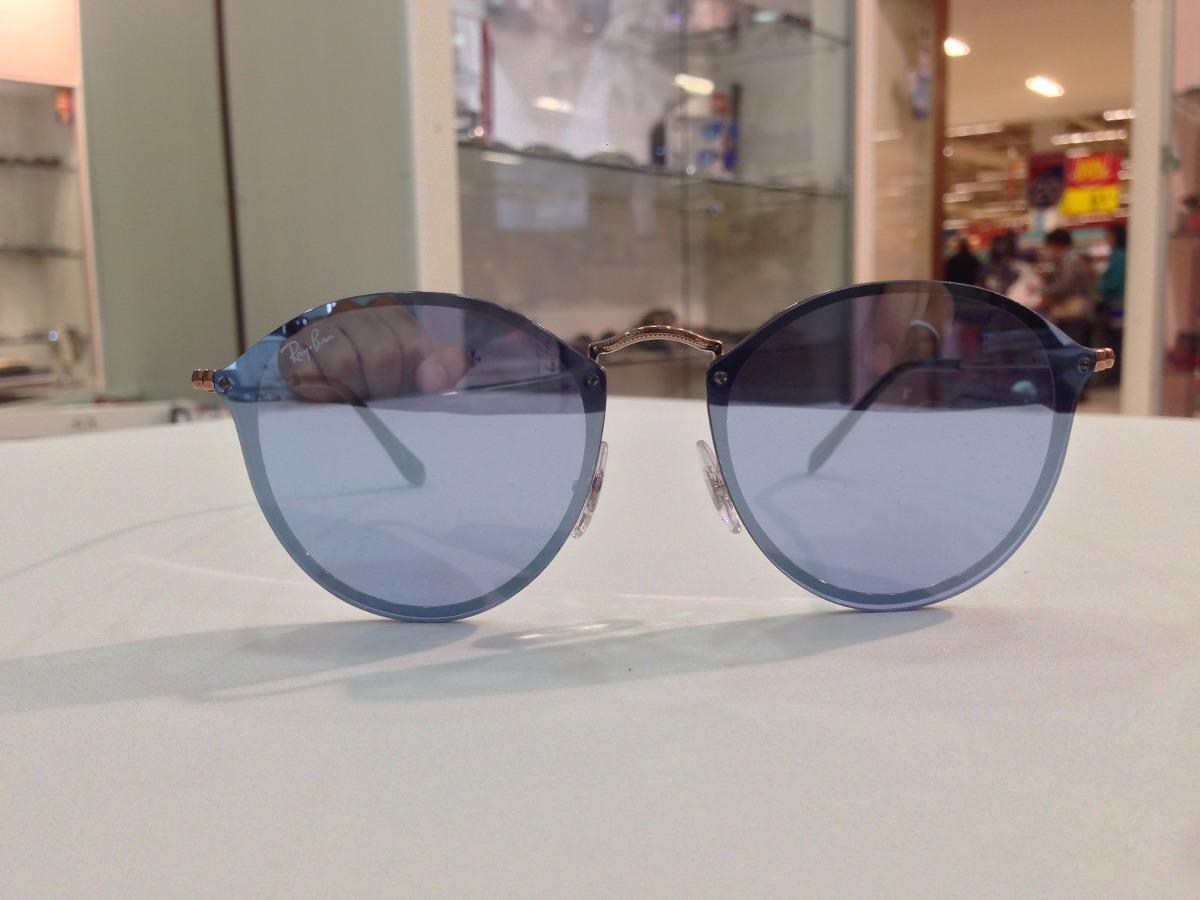 Óculos De Sol Ray Ban Blaze Round Rb 3574-n 9035-1u - R  588,00 em ... ba44bdcdc8
